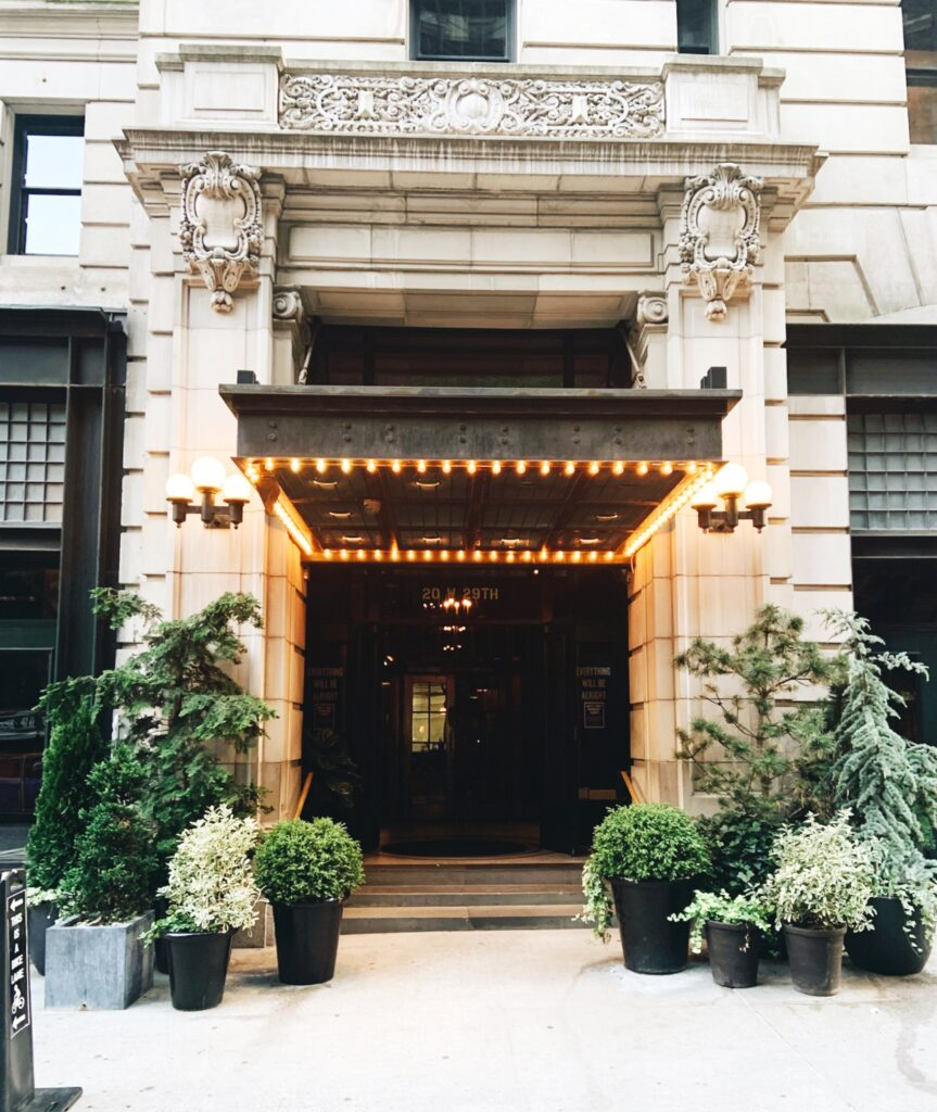 Ace Hotel New York City, exterior entry view